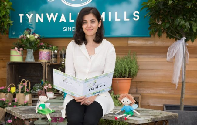 Katie Melua and fairies book