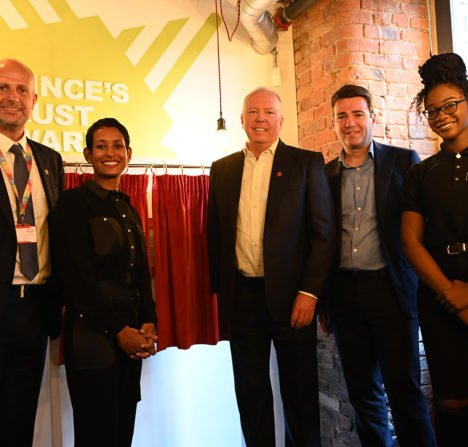 The Prince's Trust Doug Barrowman Centre opens